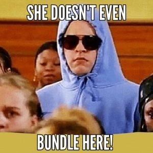 SHE DOESN'T EVEN BUNDLE HERE!  Deals! Deals! SALE